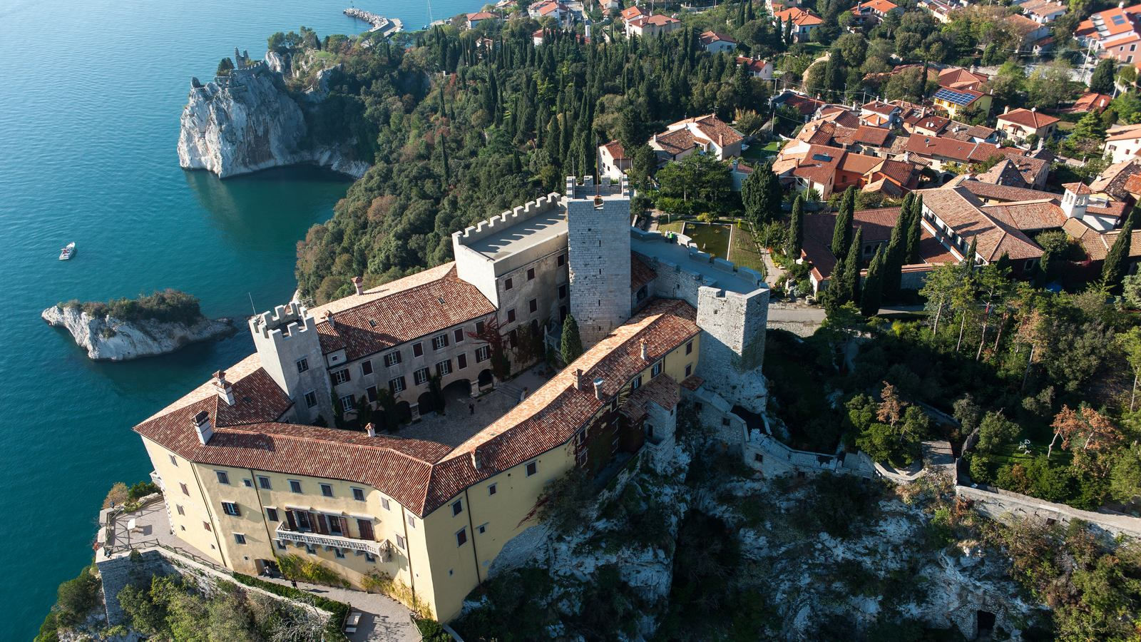 View of Duino Castle